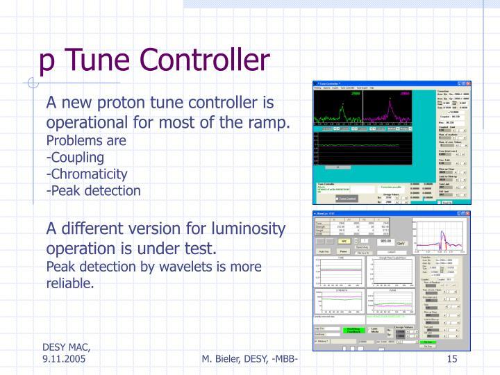 p Tune Controller