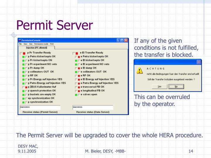 Permit Server
