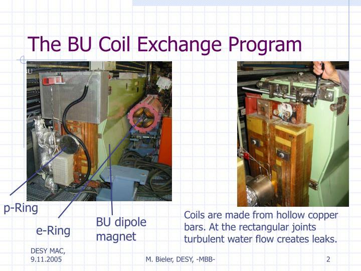 The BU Coil Exchange Program