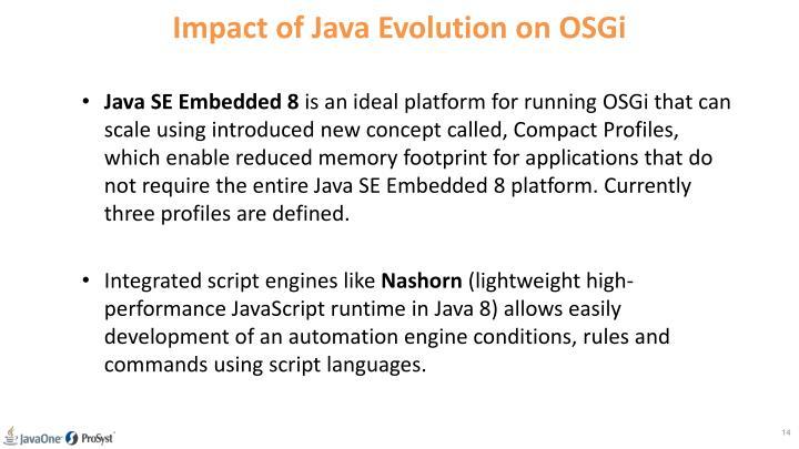 Impact of Java Evolution on OSGi
