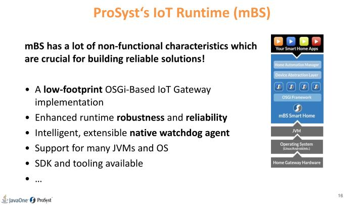 ProSyst's IoT Runtime (mBS)