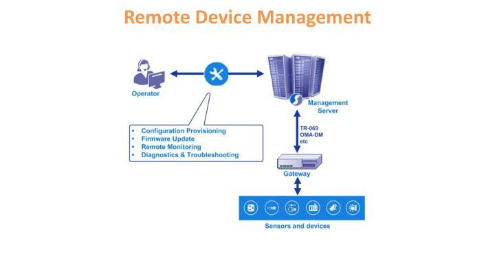 Remote Device Management