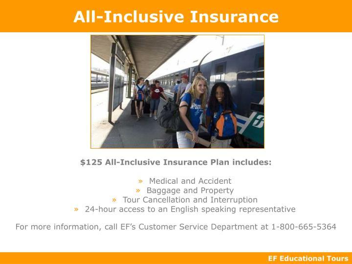 All-Inclusive Insurance