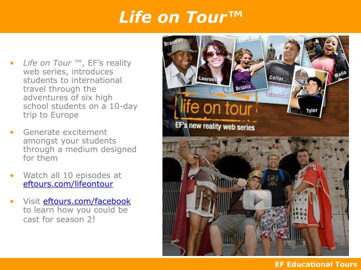 Life on Tour