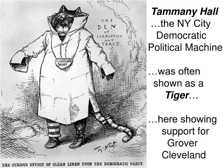 political machine tammany