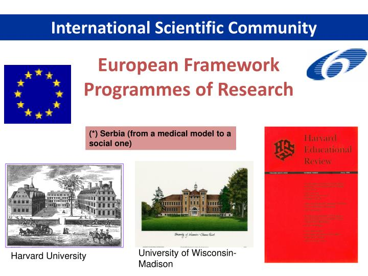 International Scientific Community