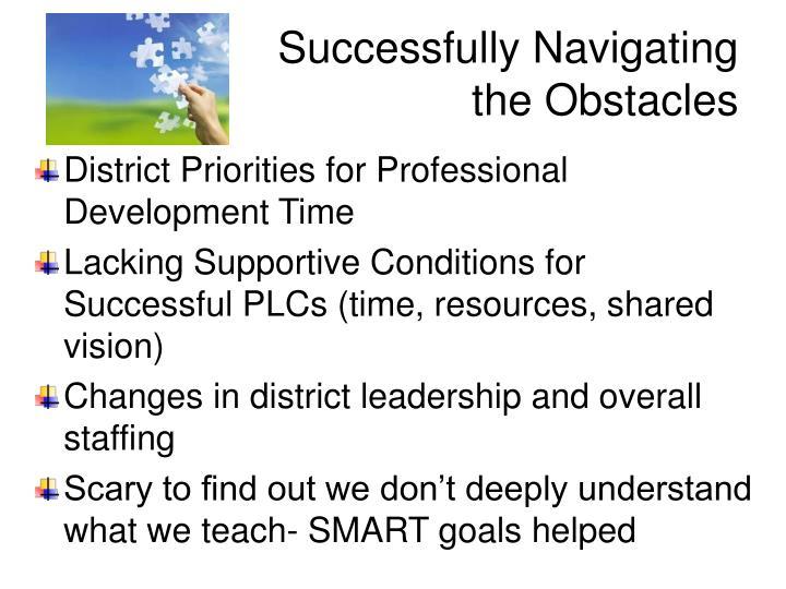 Successfully Navigating