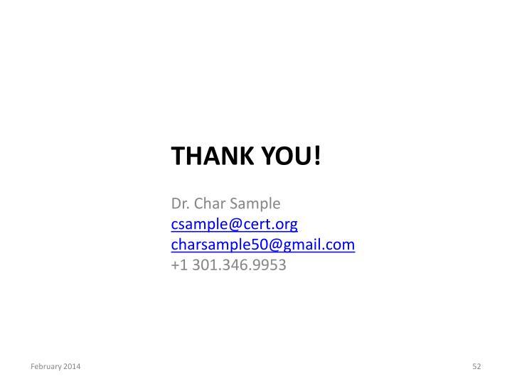 Dr. Char Sample