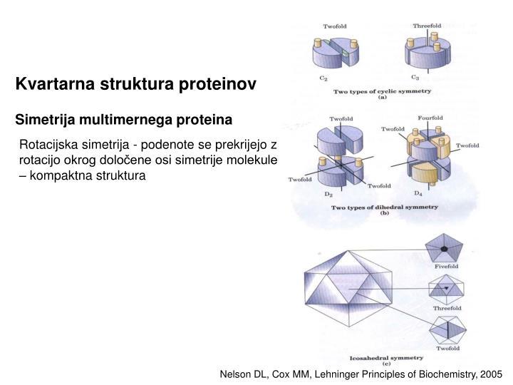 Kvartarna struktura proteinov