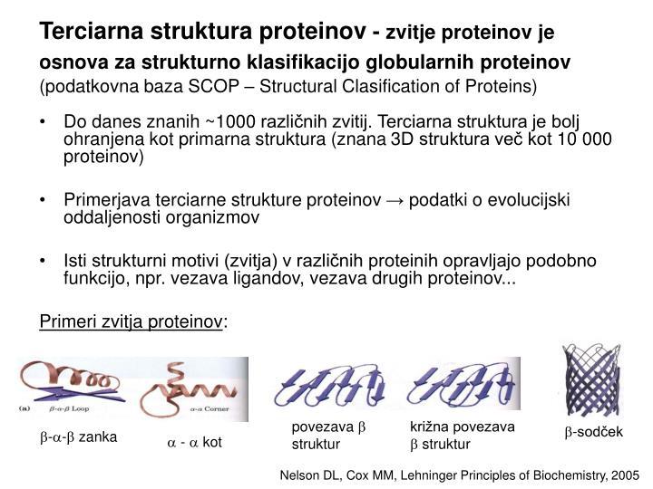 Terciarna struktura proteinov