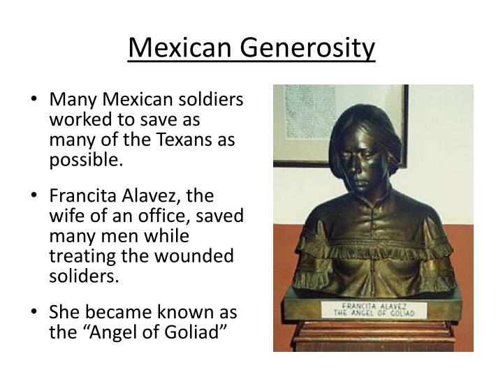 Mexican Generosity