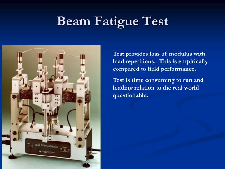 Beam Fatigue Test