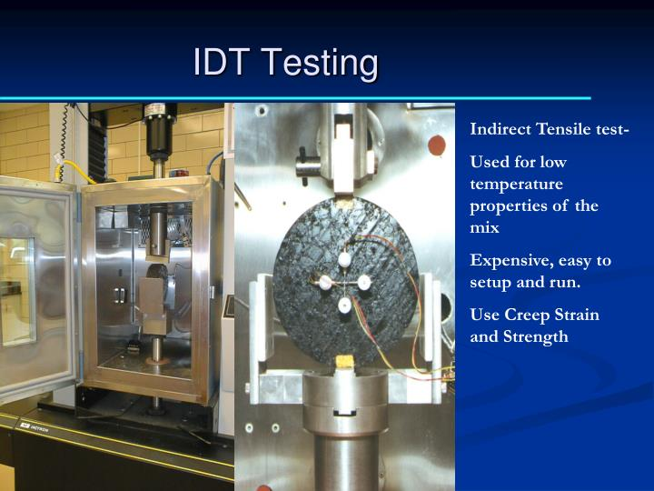 IDT Testing