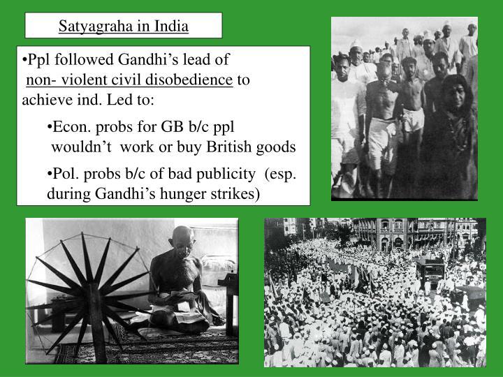 Satyagraha in India