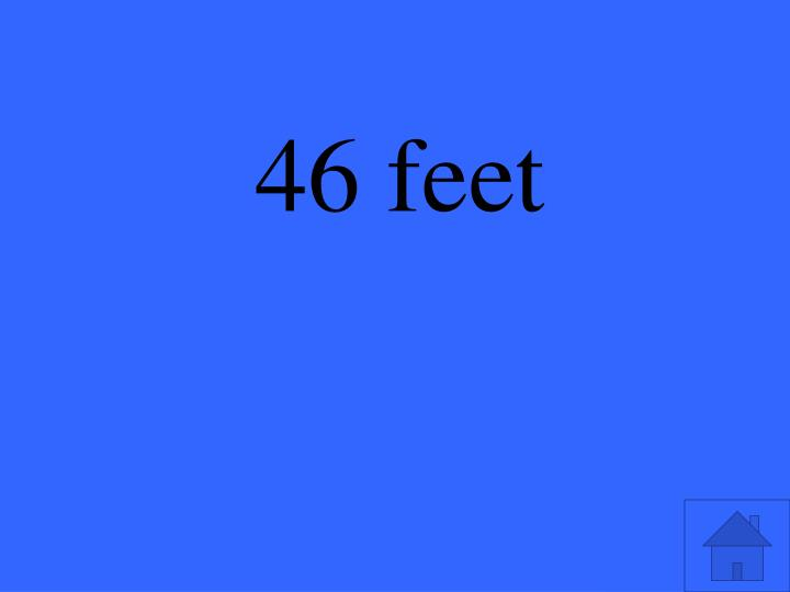 46 feet