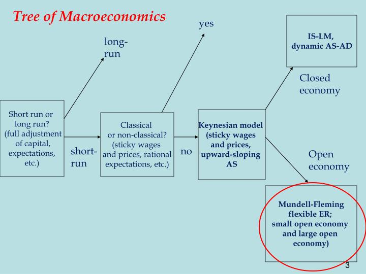 Tree of Macroeconomics