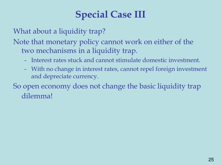 Special Case III