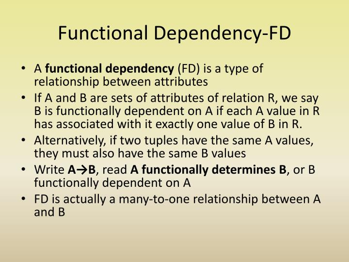 Functional Dependency-FD