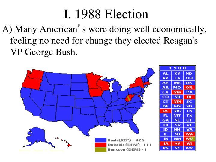 I. 1988 Election