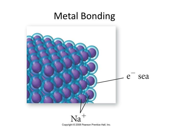 Metal Bonding
