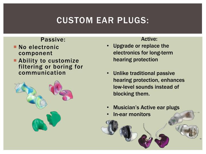 Custom Ear Plugs: