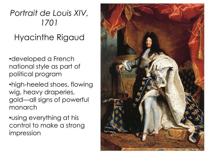Portrait de Louis XIV, 1701
