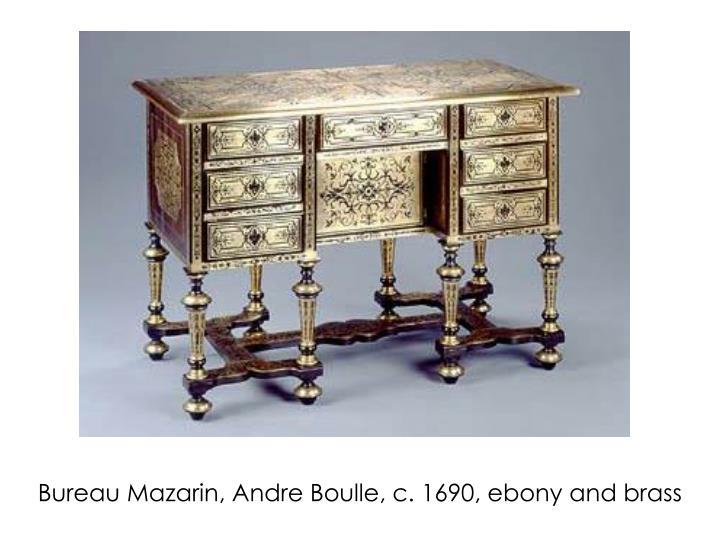 Bureau Mazarin, Andre