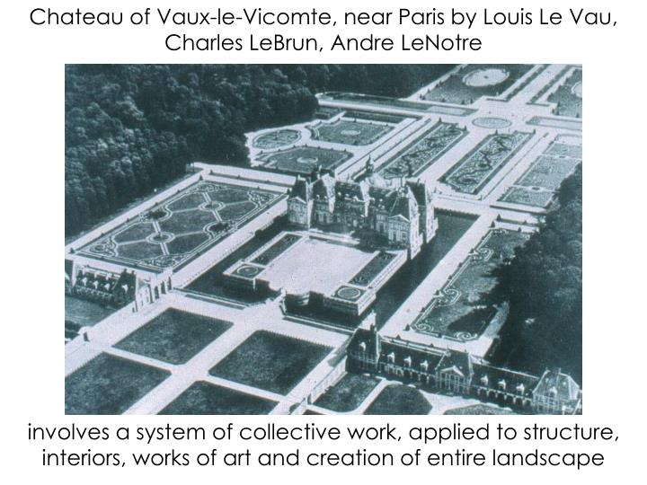 Chateau of Vaux-le-