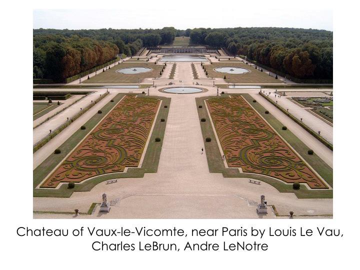 Chateau of Vaux-le-