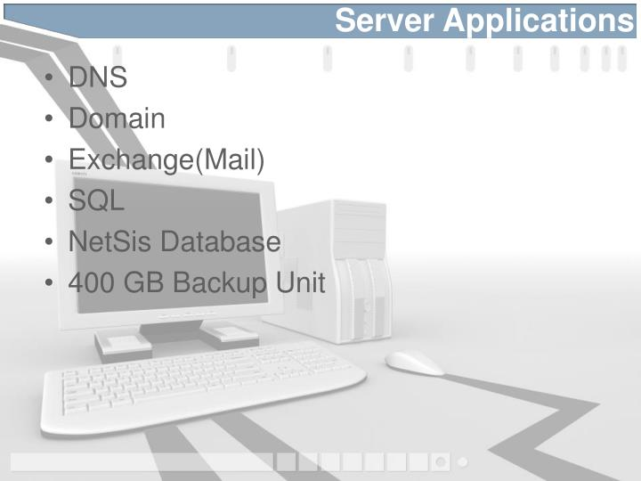 Server applications