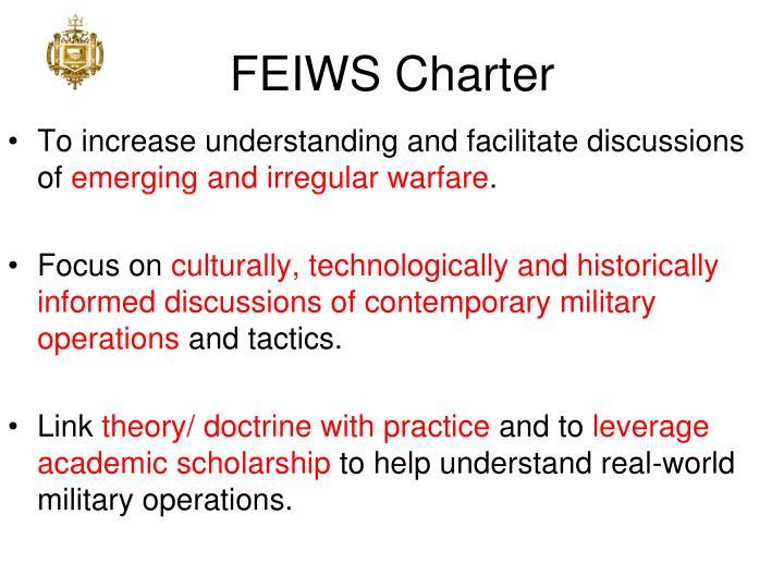 FEIWS Charter