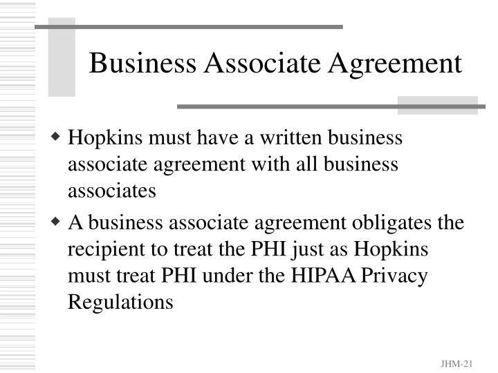 Business Associate Agreement