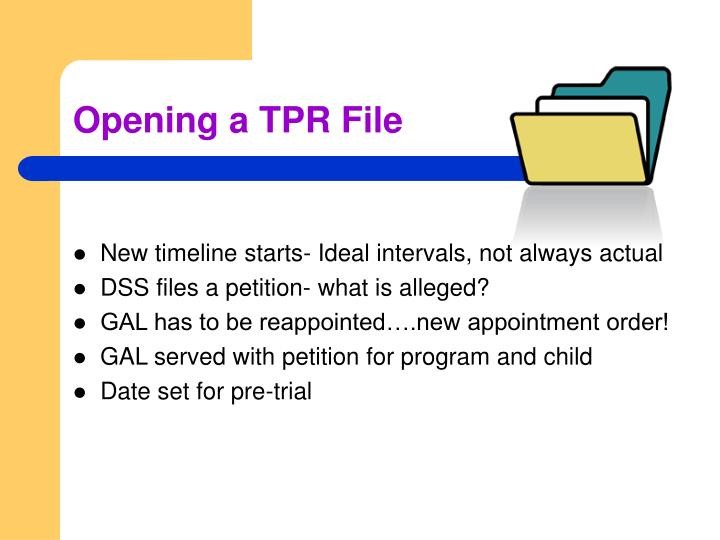 Opening a TPR File
