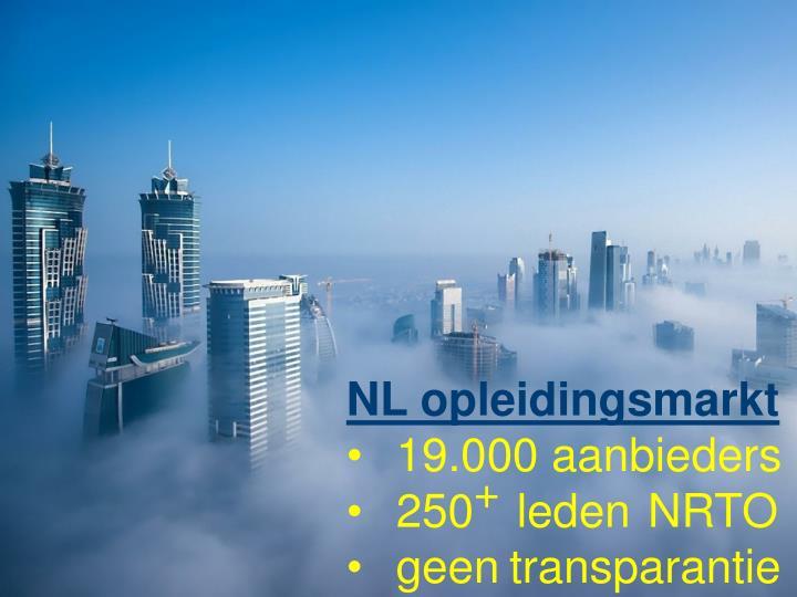 NL opleidingsmarkt