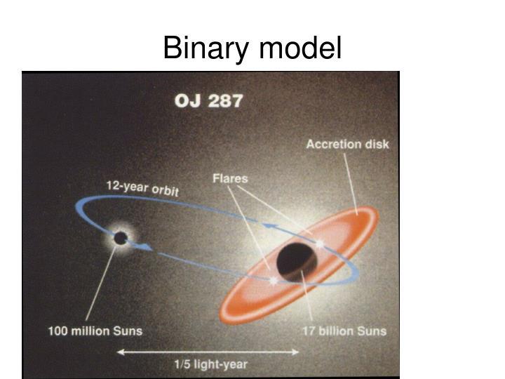 Binary model