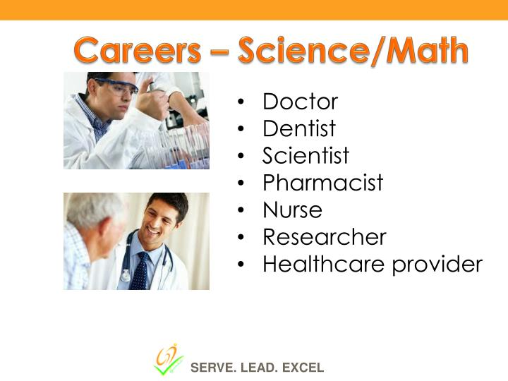 Careers – Science/Math
