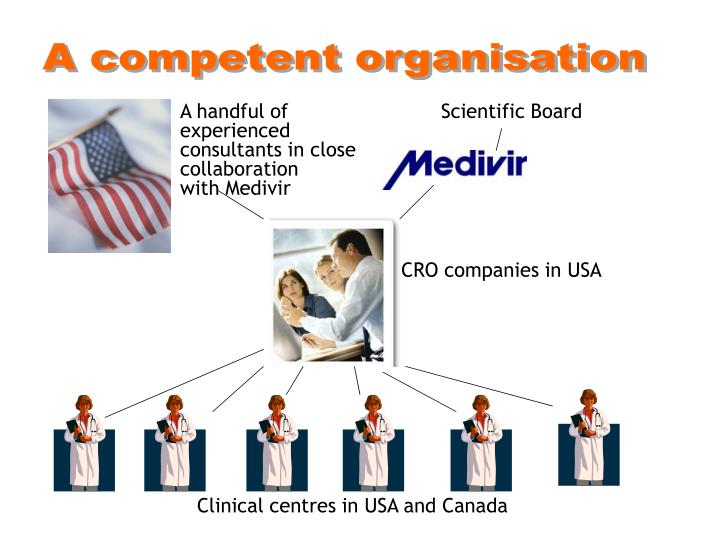 A competent organisation