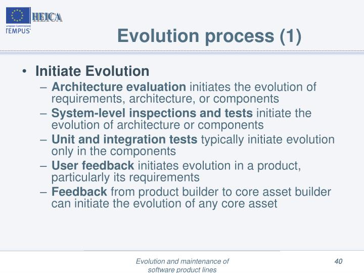 Evolution process (1)