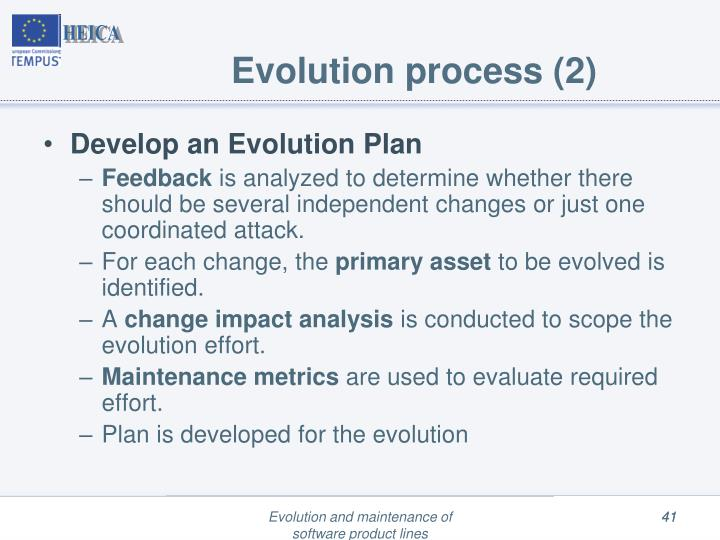 Evolution process (2)