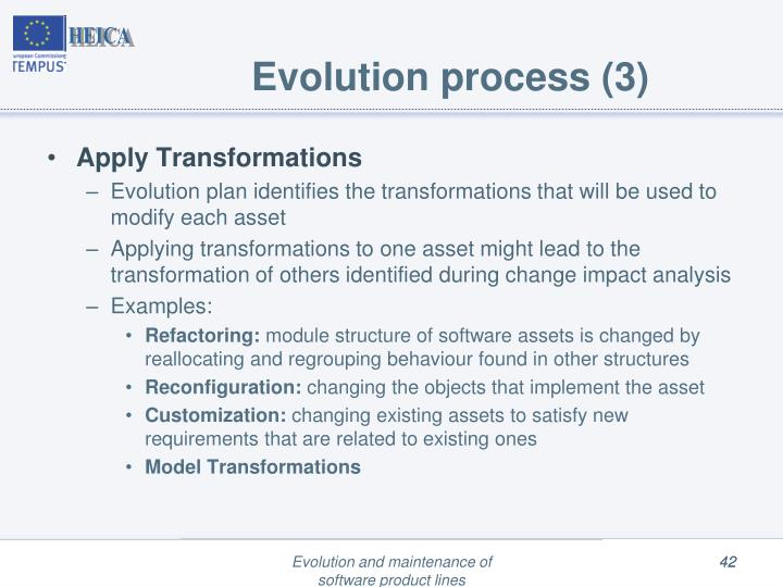 Evolution process (3)