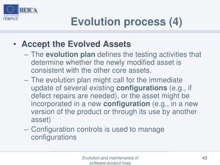 Evolution process (4)