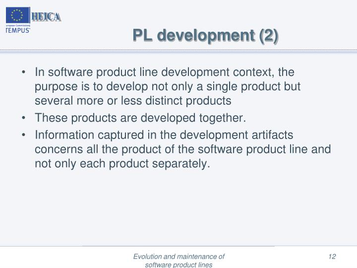 PL development (2)