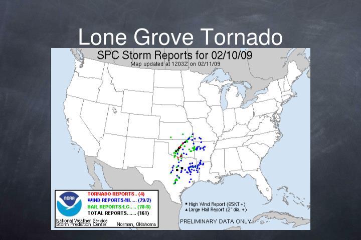 Lone Grove Tornado