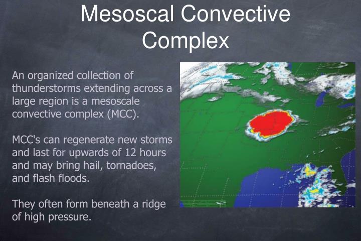 Mesoscal Convective Complex