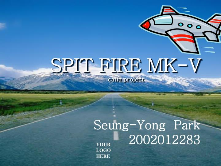 Spit fire mk v catia project