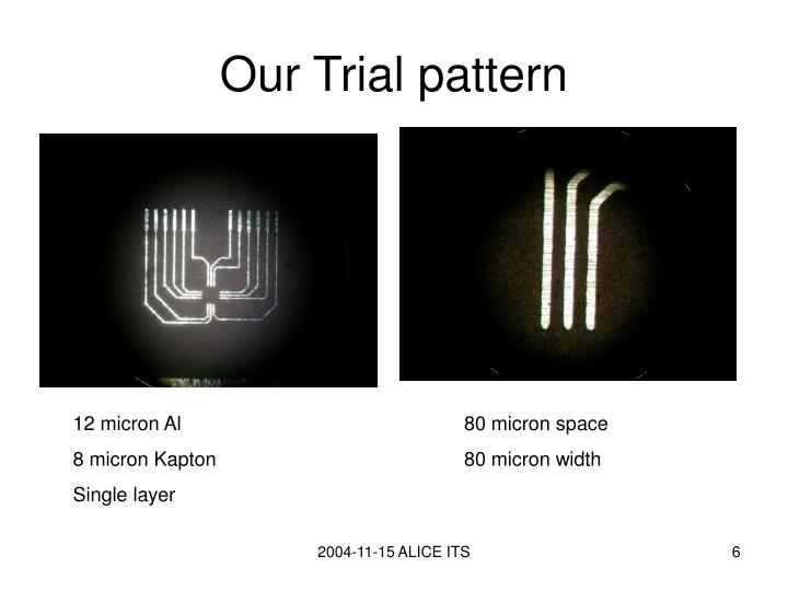 Our Trial pattern