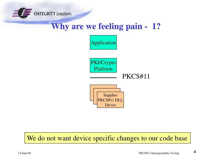 Why are we feeling pain -  1?
