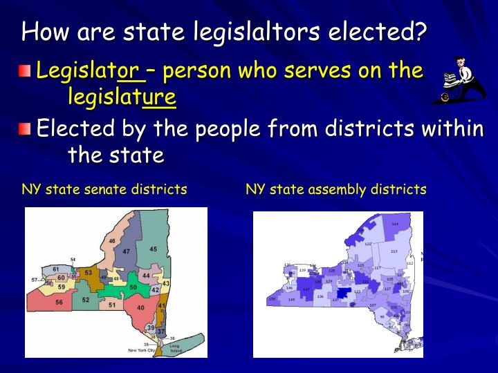 How are state legislaltors elected?