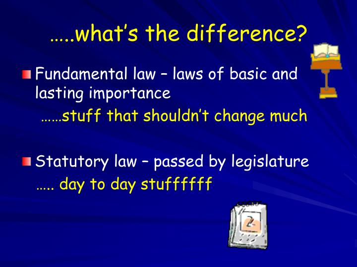 …..what's the difference?