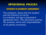 operational policies10